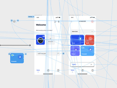 A washing app interaction visual design user interface design ux design ux designer ux interaction design design product design inter ui