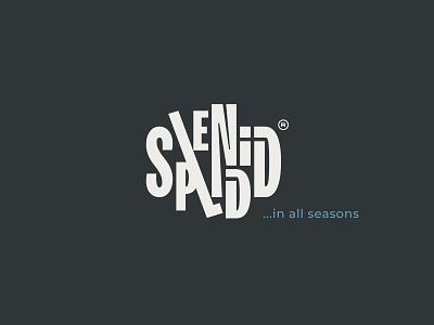Splendid Logo brand identity design icon typography graphic design branding logo