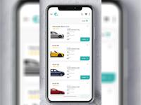 Car Mobile UI