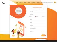 Profile page