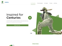 Cricket Australia HCL Partnership Website