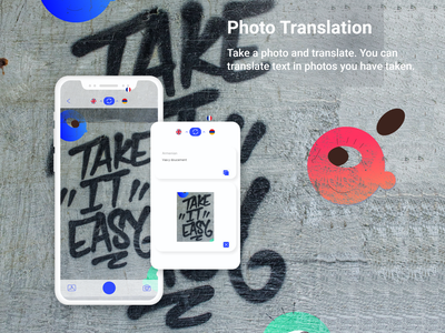 iDict.io - Photo translation app app development company android ios design ux ui app development mobile app development mobile app illustration