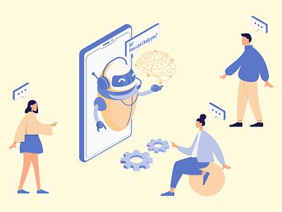 How to build an Ai app graphic design mobile apps ai platphorm artificial intelligence ai app branding ui logo android ios app development design mobile app development mobile app illustration