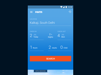 Mobile app for flight booking