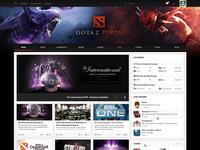 Dota 2 Portal - Homepage