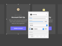 Object quick options concept for Sketch app ui request sketch feature feature sketch