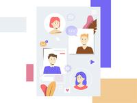 Web characters