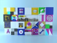 3D Banner Wall