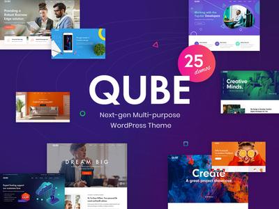 Qube - Creative Multi-purpose WordPress Theme