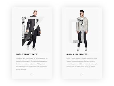 Introduction Fashion App nike behance dribbble direction art design mobile fashion ux ui