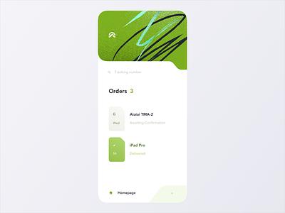 Delivery App progress georgia tbilisi sandro tavartkiladze ndro shipment send courier progress bar order tracking parcel delivery service green app delivery app shipping delivery