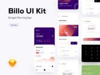 Billo UI Kit - Budget Planning App