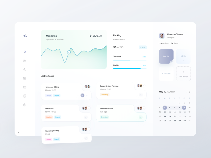 Dashboard Interface assets dashboard ui kit muted colors dashboard template ecommerce app ndro minimal ecommerce dashboard cards charts graphs task management jira active task dashboard ui dashboard app dashboard saas app saas