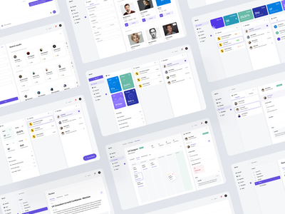 Sprout — Dashboard Interface dashboard ui profile design sandro tavartkiladze ndro interface vacancy review vacancies messaging statistics task management trello dashboard template dashboard hr hr platform hr cloud hrms hr software profile