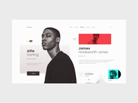 Hyphen — Music Label Concept