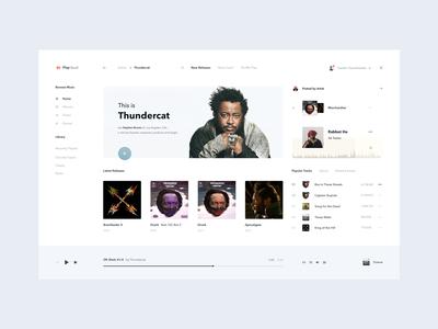 Playcloud — Online Music Streaming