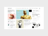 Uphill-Downhill — News Portal Concept