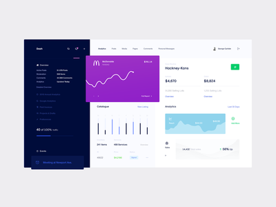 Dash — Control Panel (WIP)