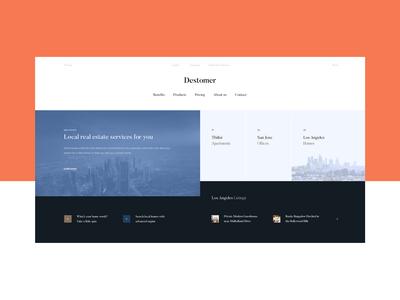 Destomer — Real Estate Portal
