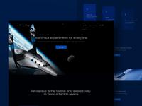 Aerospace — Flight Booking 2 (Dark Version)