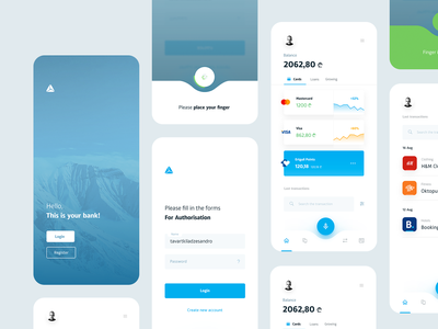 TBC Bank  — Redesign Concept tavdro ndro sandro tavartkiladze design app whitespace clean ui minimal digital revenue commerce bank app mobile banking app bank redesign tbc tbc bank