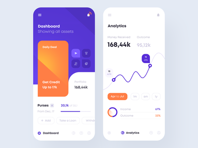 Financial App app design ios analytics dashboard analytics payment money finance app fintech tavdro sandro tavartkiladze