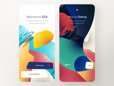 CCA App — Splash Screen & Video Player