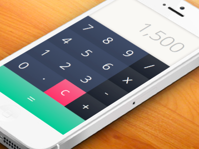 Calculator (Daily UI 004) 004 dailyui