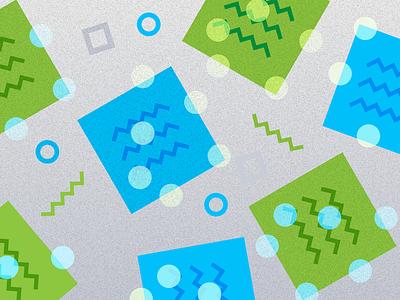 Illustration design vote dots post-it notes