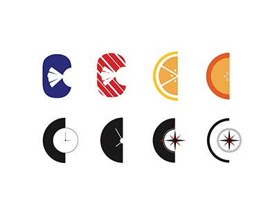C Letter Icon Exploration