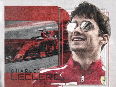 Charles Leclerc F1 Driver