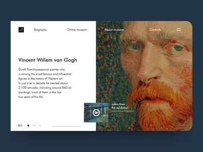 Vincent van Gogh colors new simple design nederland museum of art artist amsterdam design vincent van gogh