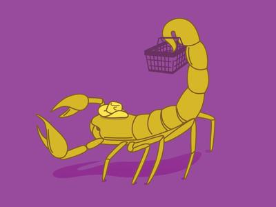 scorpio shopping zodiac stayathome grocery store shopping scorpio