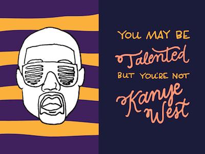 Kanye West vector illustration illustrator kanye kanye west
