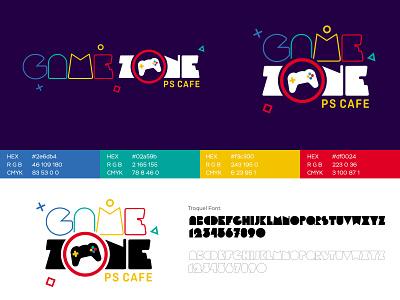 Game Zone Logo idenity branding logosketch logodesign logotype logos logo