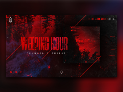 Weeping Hour Landing Page
