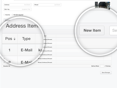 More UI Stuff ui forms backend