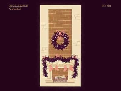 Xmas Decor holiday card holiday card illustration digitalartist digitalart winter christmas decor xmas card xmas christmas christmas card