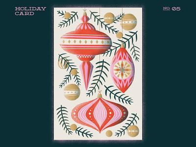 Classical Ornaments ornament ornaments xmas xmas card christmas card christmas procreateapp procreate illustration digitalartist digitalart