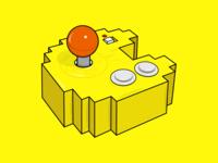 My pacman game illustrate quarantine gabs designer arcade game arcade games play yellow illustrator wakawaka videogames pacmanlove videogame pacman