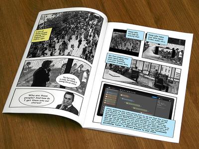 Deep Labs Graphic Novel
