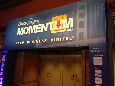 DocuSign Momentum 2013