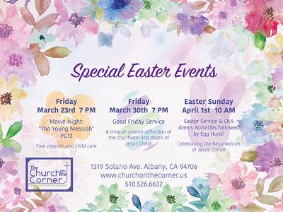 Church Easter Promo