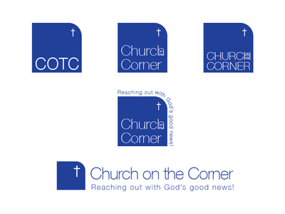 Church Logo redesign progress