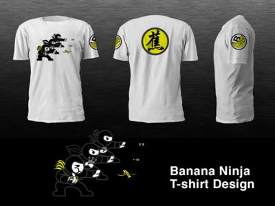 Banana Ninja T-shirt