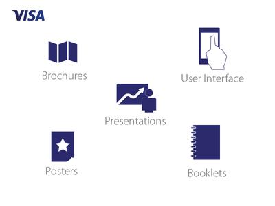 Visa Labs Design Team icons