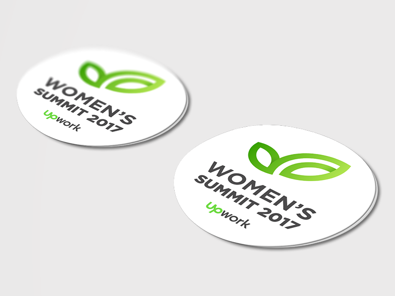 Women's Summit sticker print