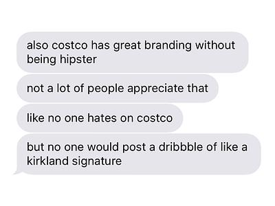 no one hates on costco costco