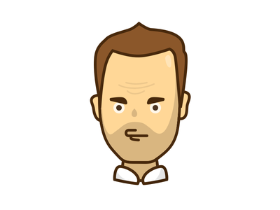 Character 1 user person profile avatar sketch illustration