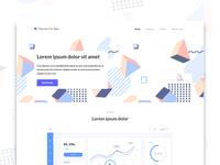 Amphissa Landing Page